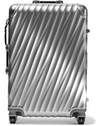 Tumi - Short Trip Aluminum Suitcase - Lyst