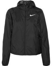 Nike - Shield Racer Hooded Shell Jacket - Lyst