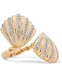 Yvonne Léon - 18-karat Gold Diamond Ring - Lyst