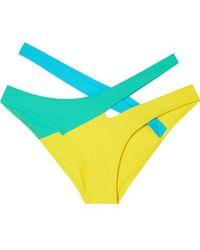 Agent Provocateur Culotte De Bikini Color-block Izaro - Multicolore