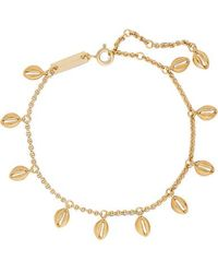 Isabel Marant Gold-tone Anklet - Metallic
