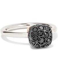 Pomellato - Nudo 18-karat White Gold Diamond Ring - Lyst