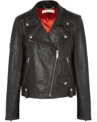 Golden Goose Deluxe Brand - Chiodo Textured-leather Biker Jacket - Lyst