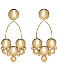 Isabel Marant - Gold-plated Earrings - Lyst