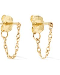 Catbird - Sweet Nothing 14-karat Gold Earrings - Lyst