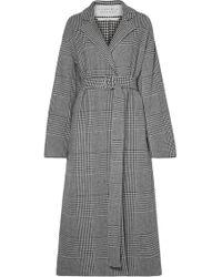Gabriela Hearst - Souza Belted Houndstooth Cashmere-blend Coat - Lyst