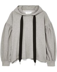 Marques'Almeida - Oversized Cotton-jersey Hoodie - Lyst