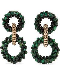 Rosantica - Carrarmato Beaded Earrings - Lyst