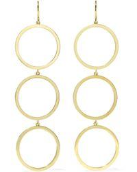 Jennifer Meyer - Open Circle 18-karat Gold Earrings - Lyst