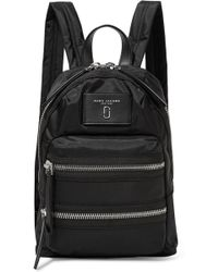 Marc Jacobs - Biker Mini Leather-trimmed Shell Backpack - Lyst