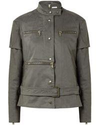 Tomas Maier - Convertible Cotton-blend Jacket - Lyst