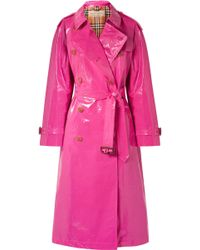 Burberry - The Eastheath Coated-cotton Trench Coat - Lyst