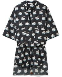 Stella McCartney | Printed Cotton And Silk-blend Coverup | Lyst