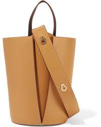 Danse Lente - Mini Lorna Leather Bucket Bag - Lyst