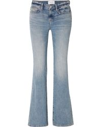 Current/Elliott - The Jarvis Mid-rise Flared Jeans - Lyst