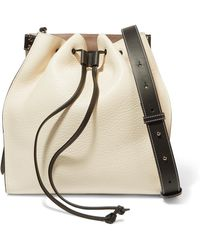 JW Anderson - Textured-leather Bucket Bag - Lyst