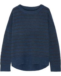 By Malene Birger | Andoles Metallic Striped Knitted Jumper | Lyst