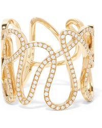 Repossi | White Noise 18-karat Gold Diamond Ring | Lyst