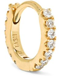 Maria Tash - Mini 18-karat Gold Diamond Earring - Lyst