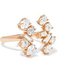 Kimberly Mcdonald - 18-karat Rose Gold Diamond Ring - Lyst
