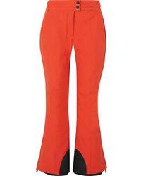 3 MONCLER GRENOBLE Flared Ski Pants - Orange
