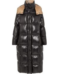Moncler - Hooded Quilted Shell Down Coat - Lyst