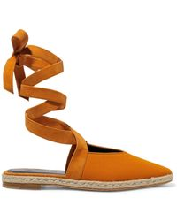 JW Anderson - Suede-trimmed Canvas Espadrilles - Lyst
