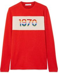 Bella Freud 1970 Cashmere-blend Jumper - Red