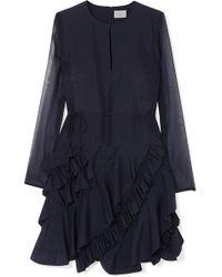 Jason Wu - Ruffled Silk-chiffon Dress - Lyst