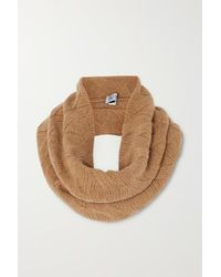 Johnstons Cable-knit Cashmere Snood - Natural