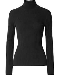 Michael Kors - Ribbed Stretch-knit Turtleneck Sweater - Lyst