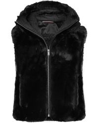 Fusalp - Peggy Hooded Faux Fur Gilet - Lyst
