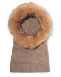 Eugenia Kim Paulina Cashmere And Faux Fur Snood - Brown