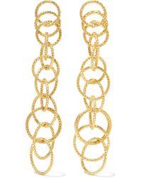 Buccellati - Hawaii Honolulu 18-karat Gold Earrings - Lyst
