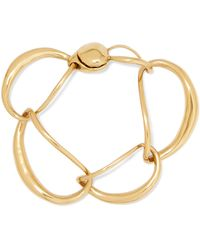 Dinosaur Designs - Liquid Chain Gold-plated Bracelet - Lyst
