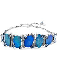 Amrapali - 18-karat White Gold, Opal And Diamond Bracelet - Lyst