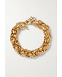 Joolz by Martha Calvo Big Dream Weaver Gold-plated Bracelet - Metallic