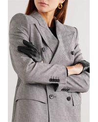 Balenciaga - Embellished Leather Gloves - Lyst