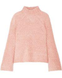 Ulla Johnson - Amina Wool-blend Turtleneck Sweater - Lyst