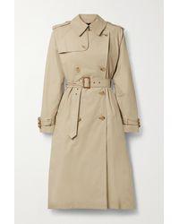 Nili Lotan Trench-coat En Coton Mélangé Tanner - Neutre