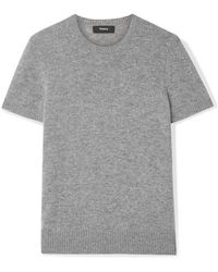 Theory Pull En Cachemire - Gris