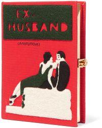 Olympia Le-Tan - Ex-husband Book Clutch - Lyst