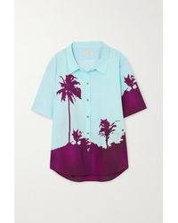 Dries Van Noten - Printed Cotton-poplin Shirt - Lyst