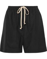 Rick Owens - Drawstring Shell Shorts - Lyst
