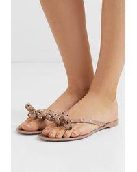 Valentino Garavani Valentino garavani garavani rockstud sandalen aus gummi - Mehrfarbig