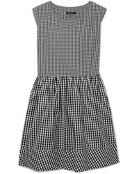 Madewell - Gingham Cotton-poplin Dress - Lyst