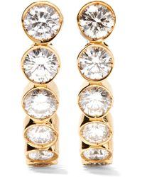 Sophie Bille Brahe - Boucle Ensemble 18-karat Gold Diamond Earrings - Lyst