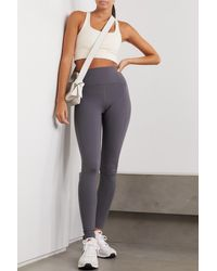 GIRLFRIEND COLLECTIVE + Net Sustain Paloma Recycled Stretch Sports Bra - White