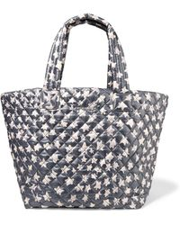 MZ Wallace - Metro Printed Quilted Shell Tote - Lyst