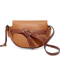 eef8e53b3d23 Lyst - Loewe Puzzle Small Textured-leather Shoulder Bag in Brown ...